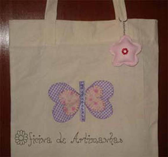 Eco bag com chaveiro