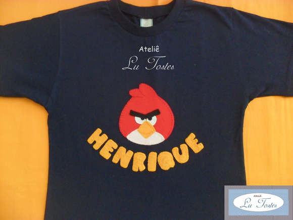 Camisa Angry Birds