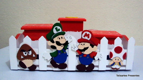 Kit Higiene Super Mario