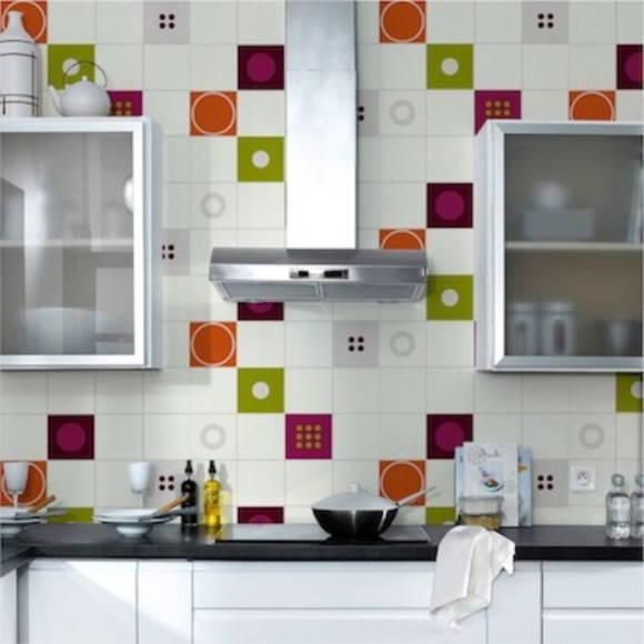 Adesivo para azulejo  419  ADESIVOS COMPRAR E COLAR  Elo7 # Adesivo Em Azulejo De Cozinha