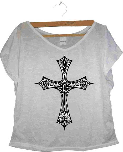T-shirt Crucifixo