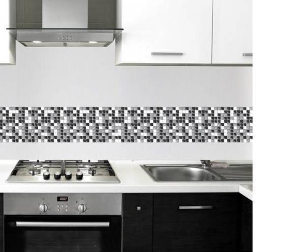 Faixa adesiva para cozinha 750  ADESIVOS COMPRAR E COLAR  Elo7 # Adesivo Em Azulejo De Cozinha
