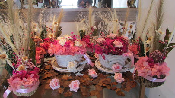 Enfeite De Xicara ~ Kit festa rosa& pink na xícara I no Elo7 Rosamorena Artes Florais (350EA1)