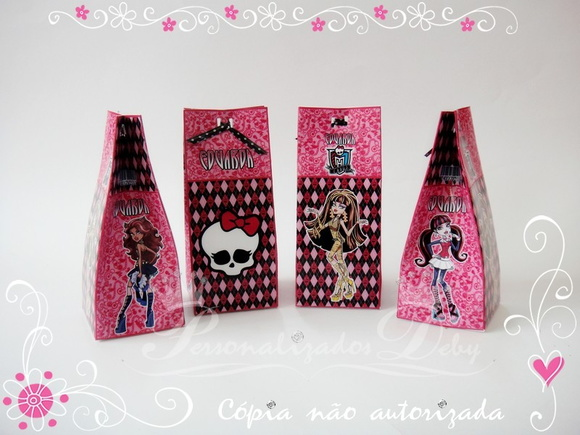 Caixa Milk MONSTER HIGH Tam M
