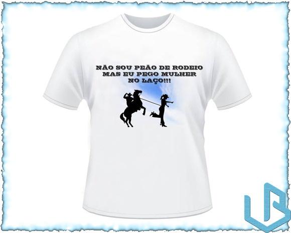 Camiseta Personaliza Country Sertanejo 2