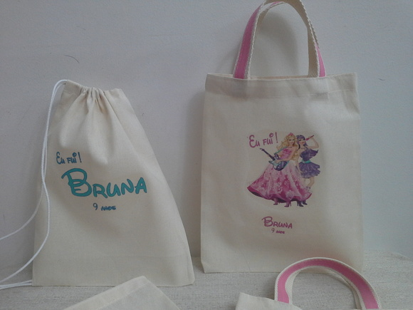 ECO BAG BARBIE POP STAR