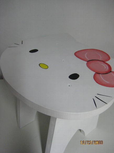 banquinho Hello Kitty