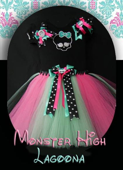 ConjuNto Monster High inspirado Laguna