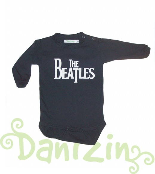 Body Bebê M. Comprida THE BEATLES P/G