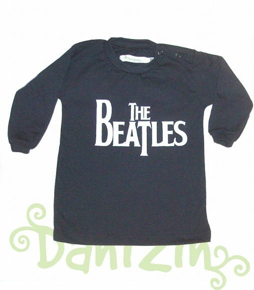 T-Shirt Bebê M. Comprida THE BEATLES