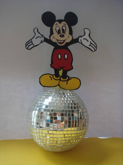 ENFEITE DE MESA - FESTA DO MICKEY