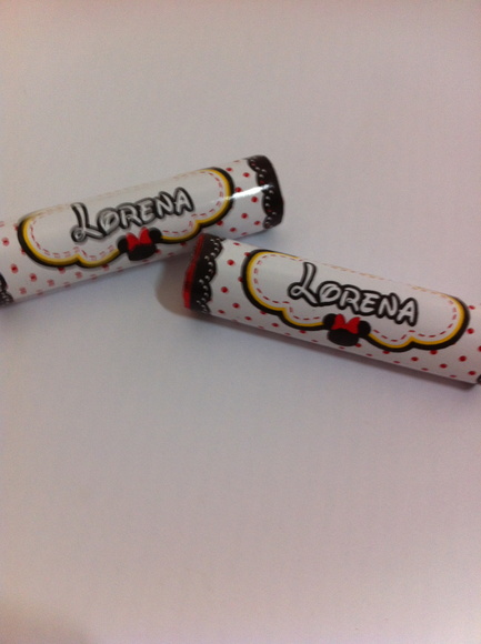 Chocolate Baton Personalizado - Minnie