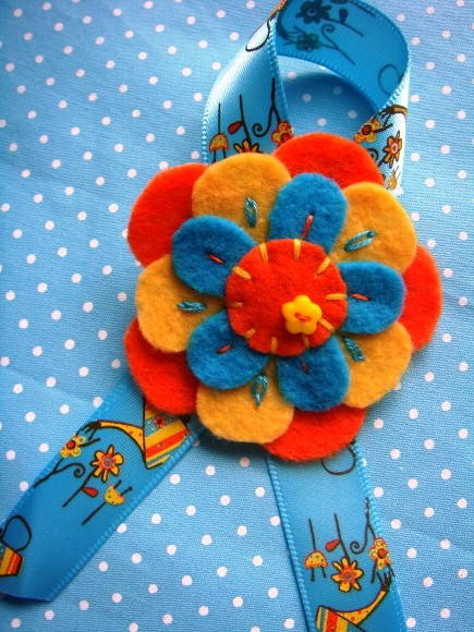 Broche Water Flower