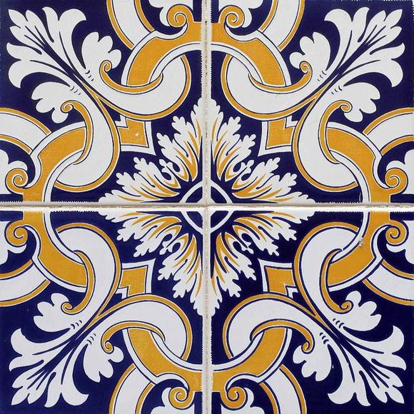 Azulejo adesivo az007 03 arabesco design elo7 - Azulejo sobre azulejo ...