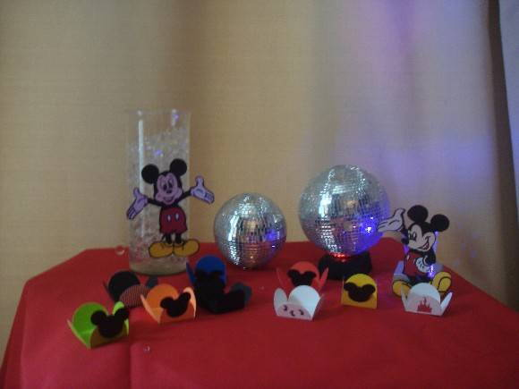 FORMINHA DA FESTA DO MICKEY E MINNIE