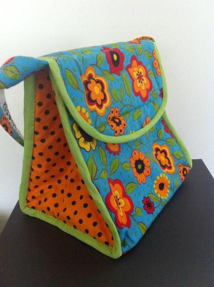 Bolsa Lancheira De Tecido : Lancheira termica de tecido elo