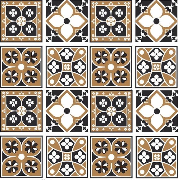 Armario Esquinero Conforama ~ Adesivo para azulejo modelo retr u00f4 no Elo7 ADESIVOS COMPRAR E COLAR (3FE1B0)