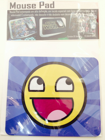 Mouse Pad Wesomeface FRETE GRÁTIS!!!!!!!