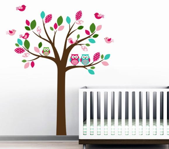 Armario Planejado Para Quarto Casal Pequeno ~ Adesivo de Parede InfantilÁrvore Balihai Stickers Elo7