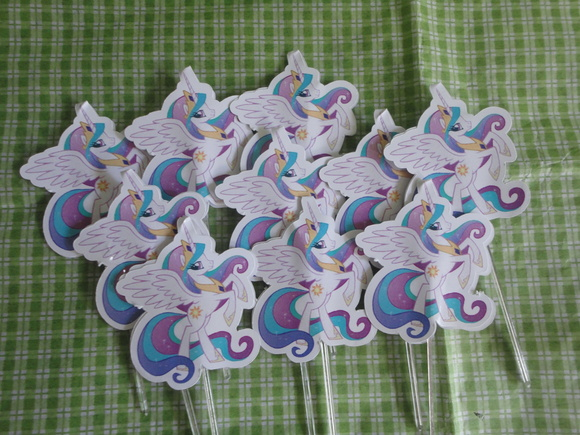 Topper Para Doce Little Pony 1