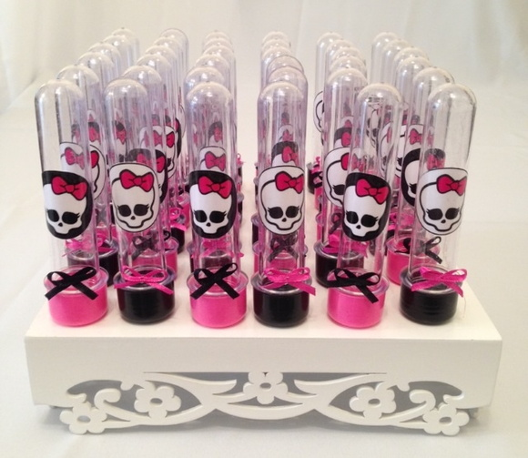 Tubetes para doces Monster High
