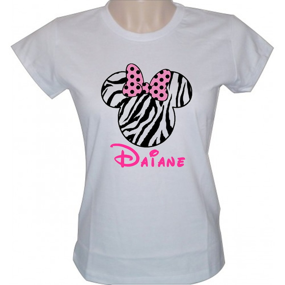 Camisetas Minnie Safari