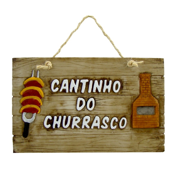 CANTINHO DO CHURRASCO - 29,0 x 18,5