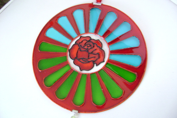 Mandala Rosa Cigana MP-166