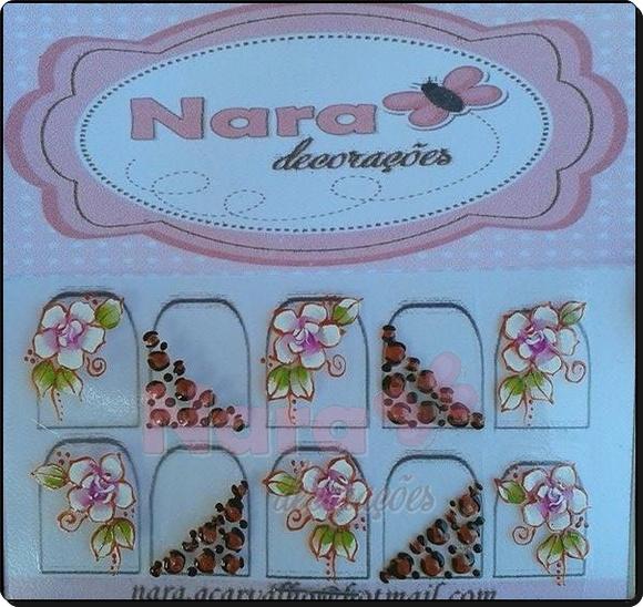Adesivo Onça Com Flor Nara Decorações Elo7