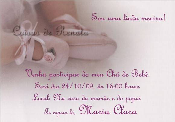 Convite Chá De Bebê No Elo7 Coisas De Renata 6511b
