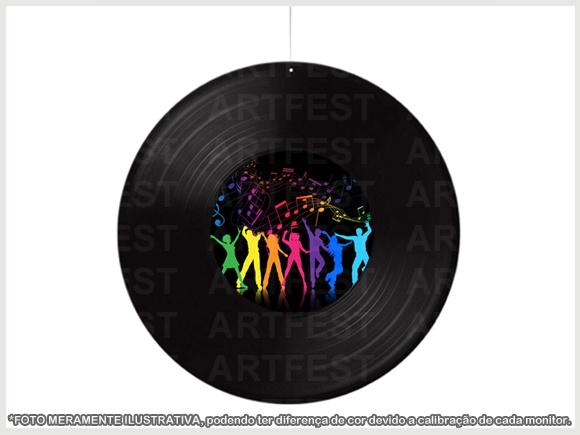 DISCO VINIL LP DECORA u00c7ÃO no Elo7 ARTFEST (453DB0) -> Decorar Com Discos De Vinil