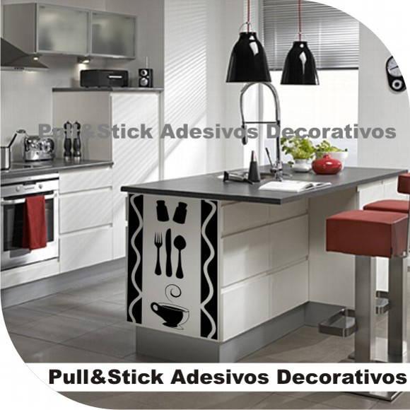 Armario Planejado Para Quarto Casal Pequeno ~ Adesivo para cozinha Frete Grátis PullStick Adesivos e Papelaria Personalizada Elo7