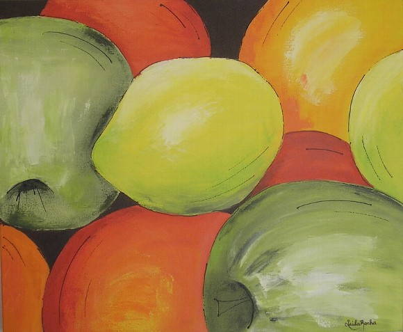 "Painel ""Frutas I"""