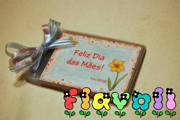 Mini álbum Dia ds Mães