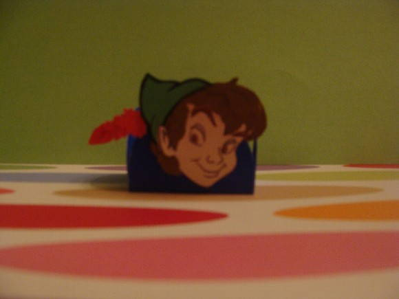 PETER PAN - FORMINHA DE PAPEL