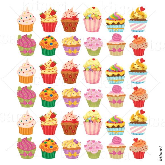Adesivo De Cozinha ~ Adesivo de Cozinha Cupcake no Elo7 Kitsart (47780B)