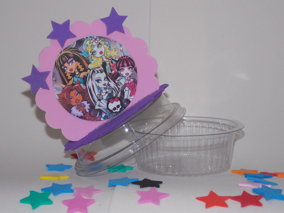 Porta bala ou doce Monster high