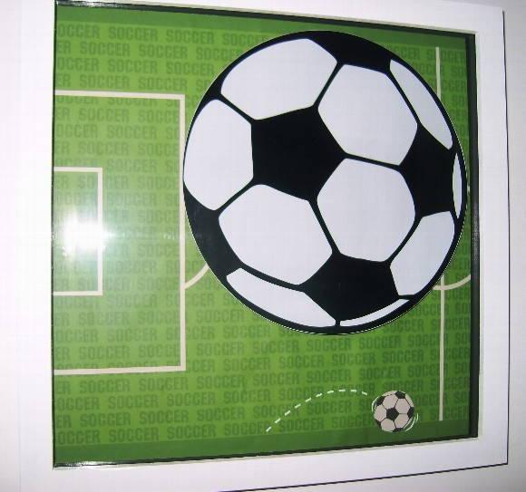 Quadro Bola de Futebol  08fd5191dd980