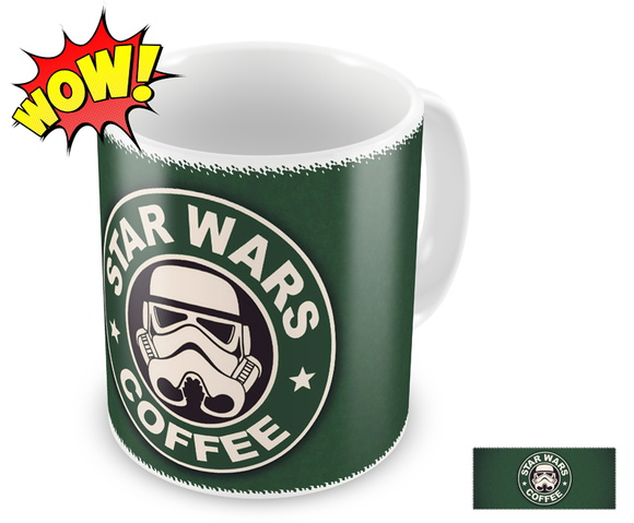 Caneca personalizada Star Wars Coffee