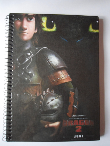 Caderno Como treinar seu dragão 3 | Atelier Eureka | Elo7