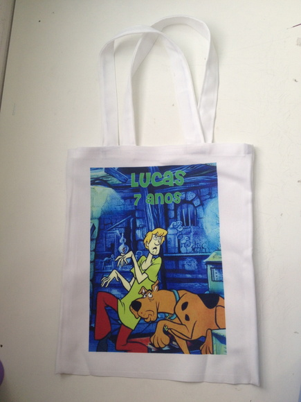 Eco bag personalizada scooby doo