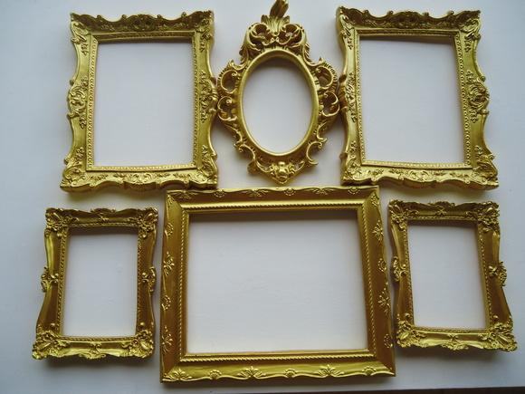 molduras douradas para festas de casamento elo7. Black Bedroom Furniture Sets. Home Design Ideas