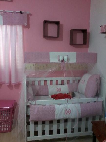 cortina para quarto de bebe  Li Artes Artesanato em Tecido  Elo7