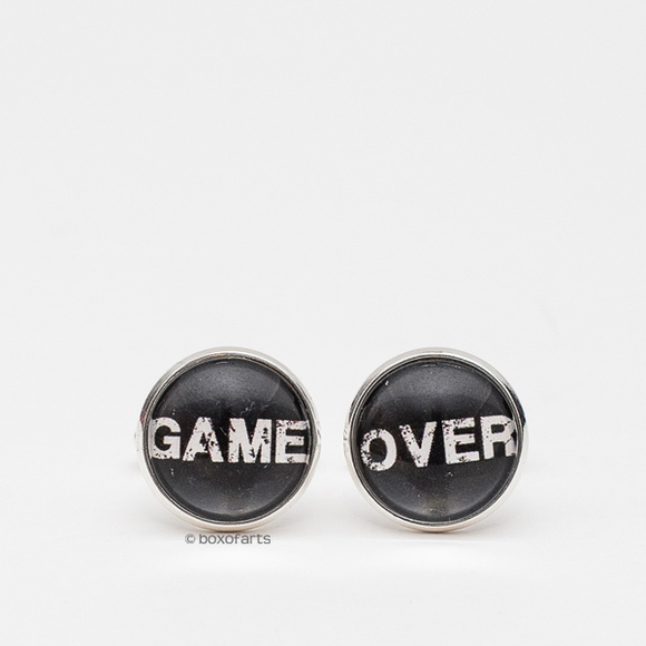 Abotoadura Personalizada - Game Over