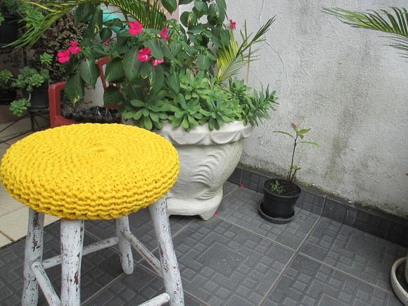 Capa de Cadeira Croche