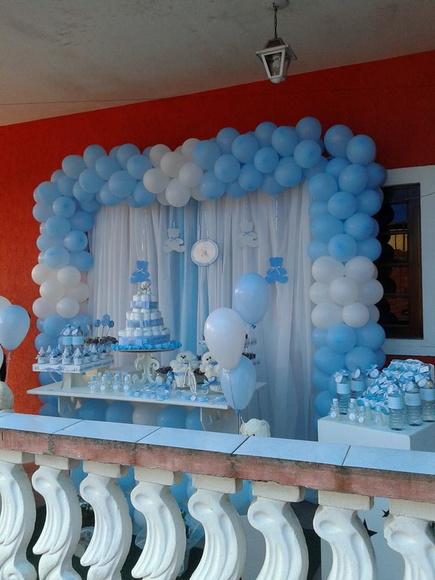 Decora 231 227 O De Ch 225 De Beb 234 Azul No Elo7 Tutu Amp Tata Festas
