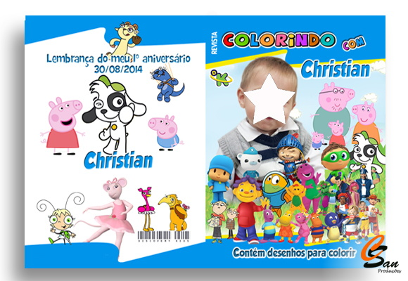 Revista de Colorir Discovery Kids