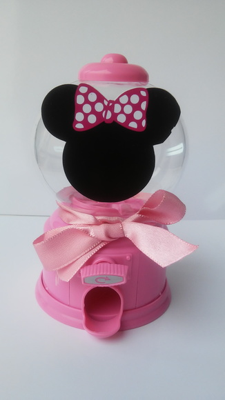 Baleiro Candy Machine Minnie Rosa