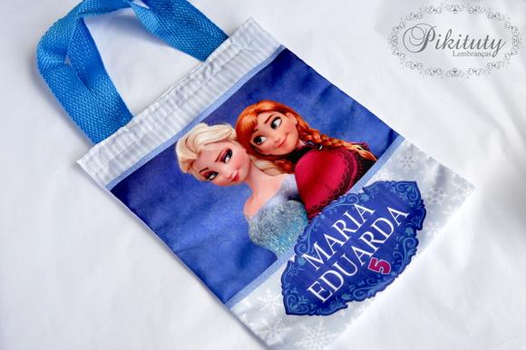 Bolsa De Tecido Frozen : Tecido frozen elo