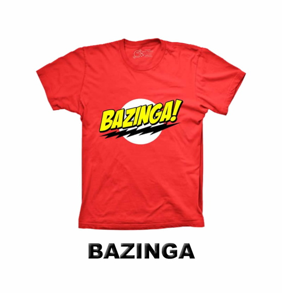 Camiseta Bazinga The Big Bang Theory